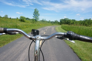 For me, spending time riding my bike or walking in nature is what inspires ideation.